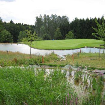 Teich Golfplatz Neuwied