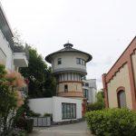 Seitenansicht Wasserturm Niedernhausen
