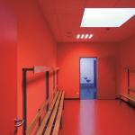 Umkleide Rot Sporthalle Obertshausen